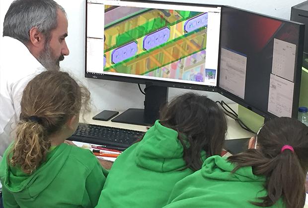 GEOCAM recebe grupo de alunos da Escola do 1º Ciclo e Jardim de Infância de Martingança